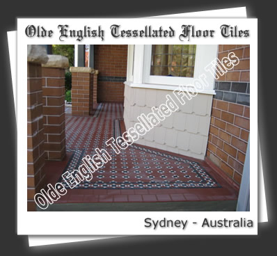 Olde English Tessellated Floor Tiles Special Design