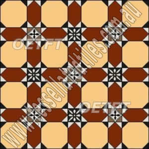 tessellated floor pattern baby windsor