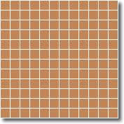 Vitrified square tiles oatmeal 25 x 25 mm
