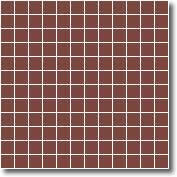 Vitrified square tiles special red 25 x 25 mm